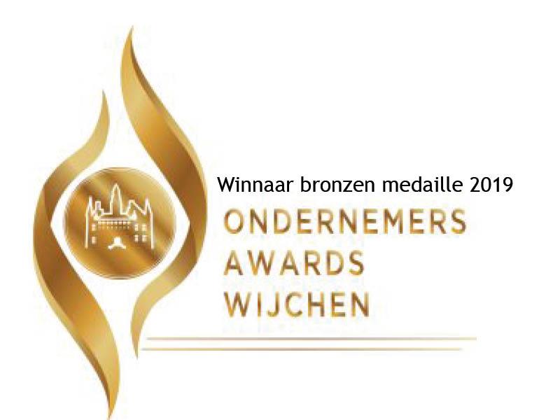Winnaar bronzen medaille hotel Hoogeerd wijchen